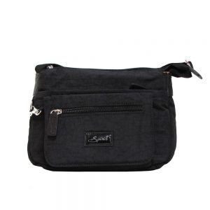 spirit 1651 lightweight travel bag black colour