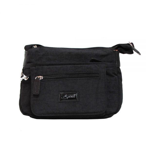 spirit 1651 lightweight travel bag black colour