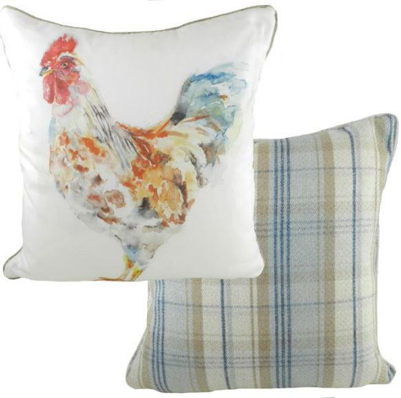 Rooster wildlife cushion