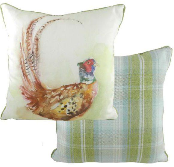 Pheasant Wildlife cushion