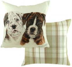 Boxer Dog Puppy Cushion