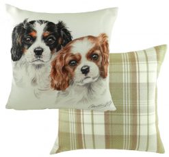 Cavalier King Charles Puppy Cushion