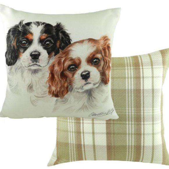 Cavalier King Charles Puppy Cushion