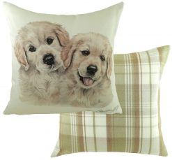 Golden Retriever Puppy Cushion