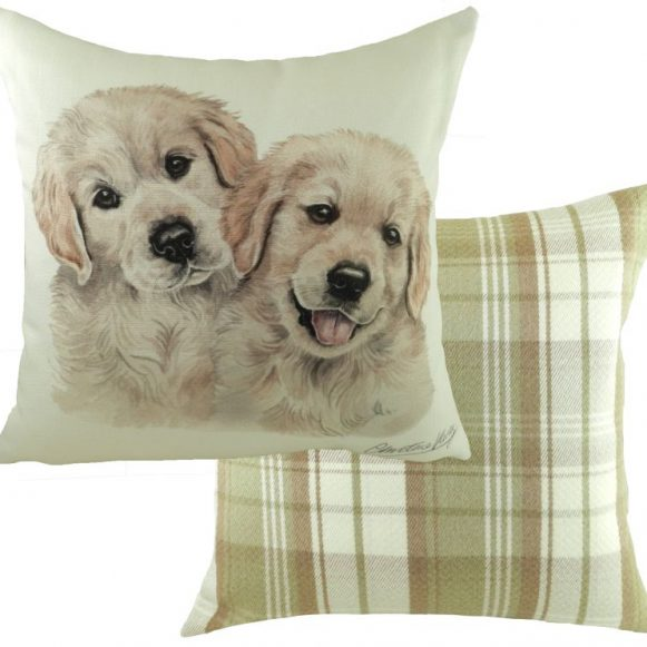 Golden Retriever Puppy Cushion