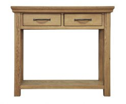 Oak Console table from Twenty Two Giftware carlisle cumbria