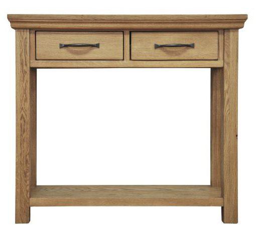 Oak Console table from Twenty Two Giftware carlisle cumbria