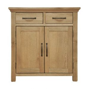 Oak 2 Drawer Cupboard from TwentyTwo Home & Giftware Carlisle Cumbria