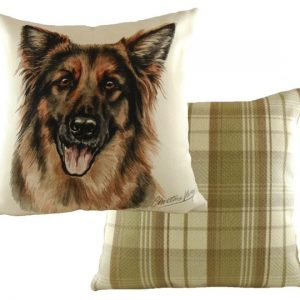 German Shepherd Cushion Waggy Dogz