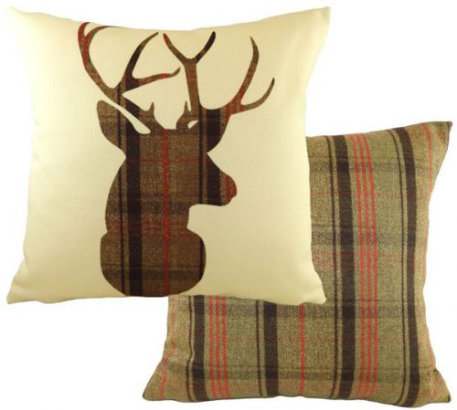 stirling stag cushion
