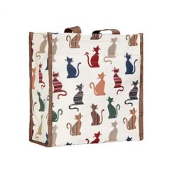 signare tapestry bag cheeky cat