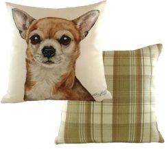 chihuahua cushion waggy dogz