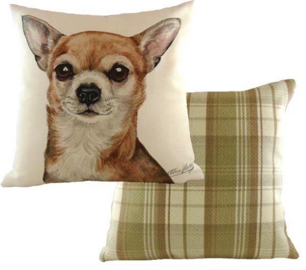 chihuahua cushion waggy dogz
