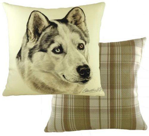 Husky cushion Waggy dogz