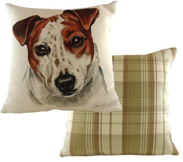 Jack Russell Cushion Waggy Dogz