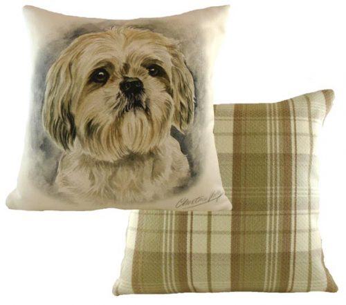 Shihtzu Waggy Dogz Cushion