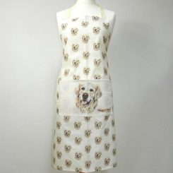 wage dogz apron golden retriever