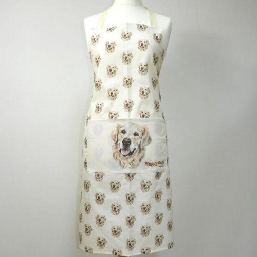 wage dogz apron golden retriever