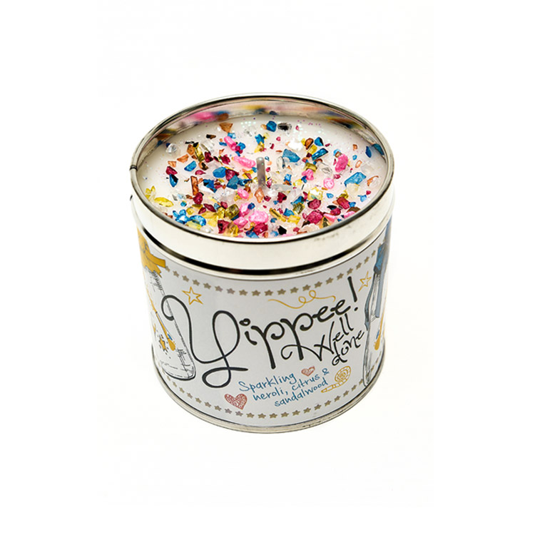best kept secrets candle tins