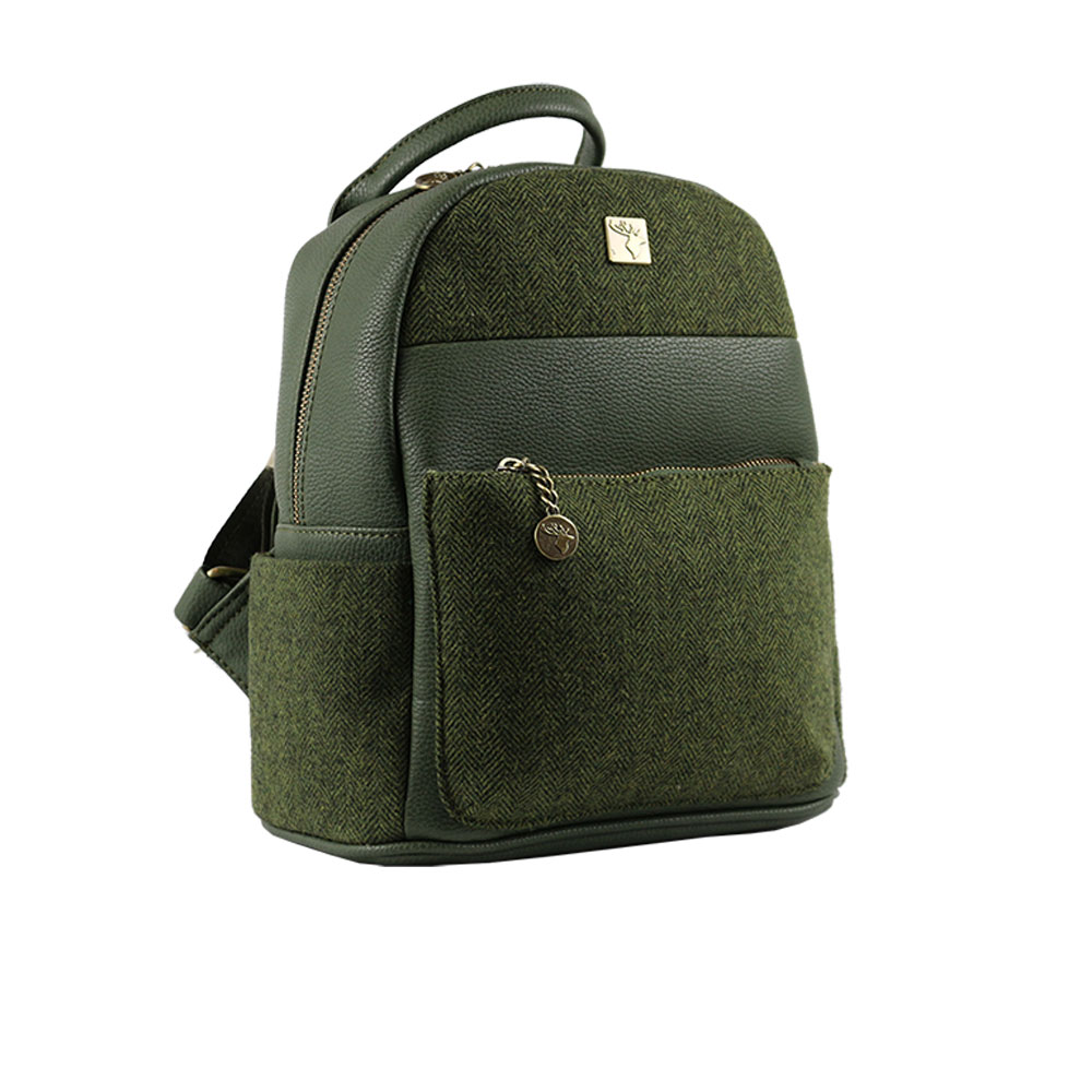 house-of-tweed-sm-backpack-light-green-angle