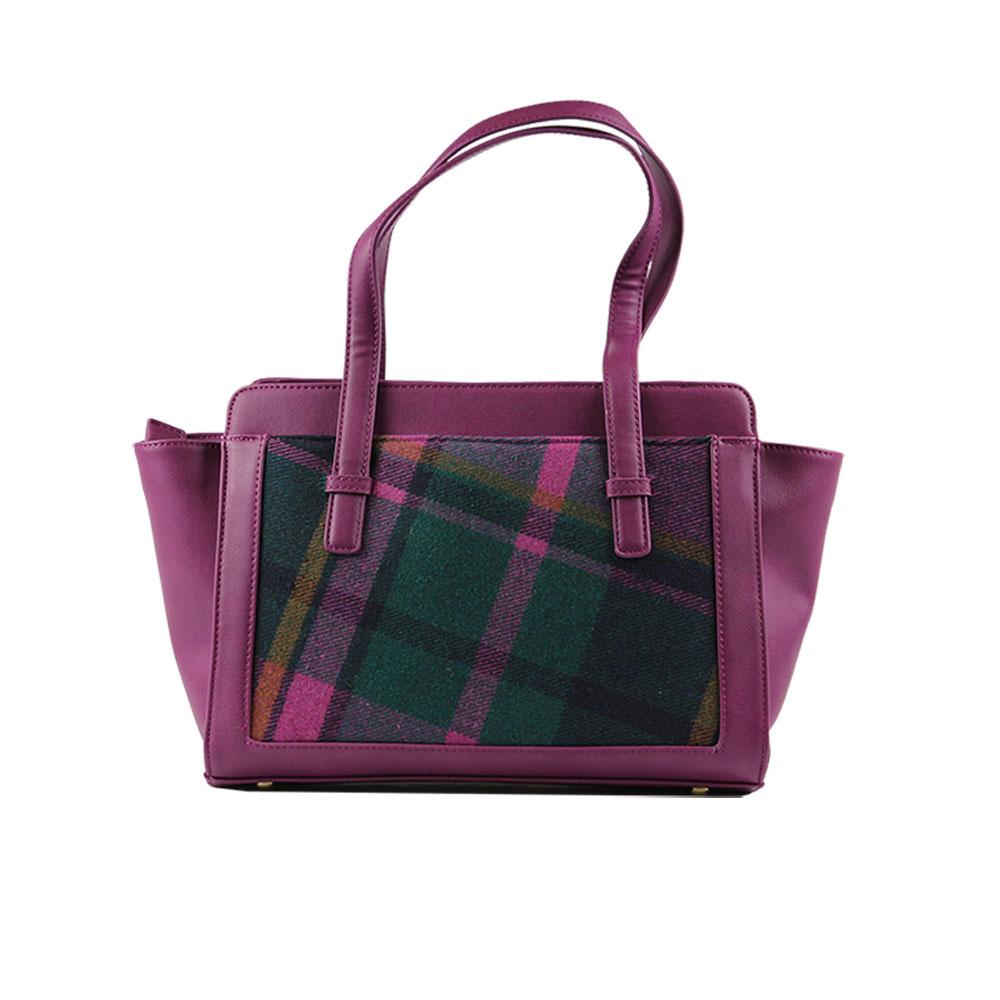 house-of-tweed-tassel-bag-rear-purple