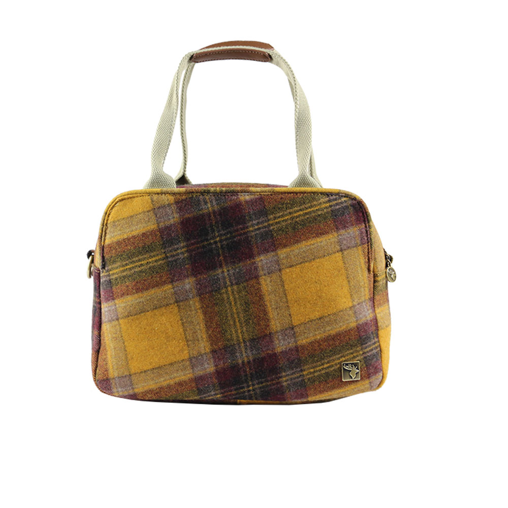 House of Tweed tartan bags