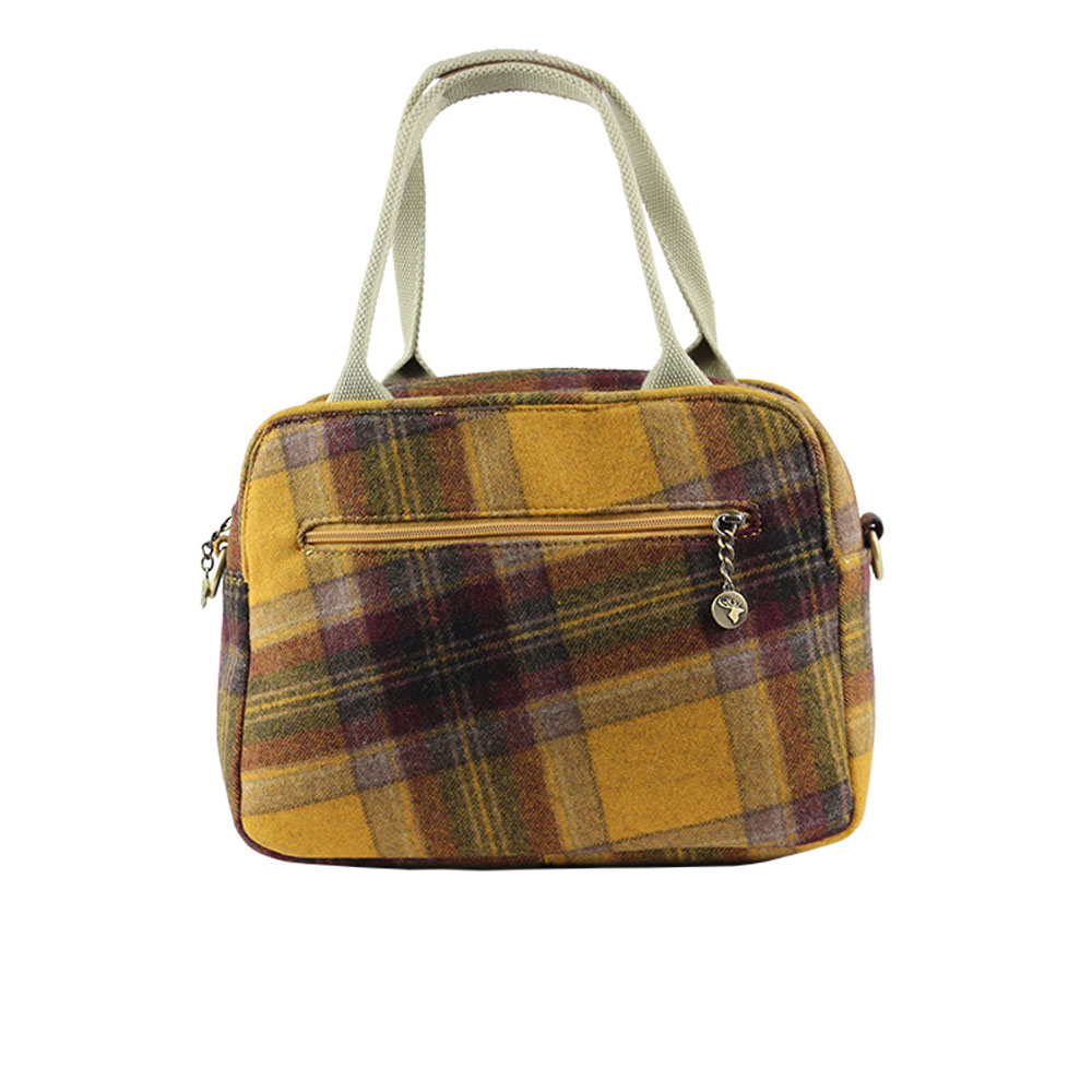 Tartan Yellow Check rear