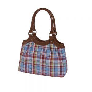the quintessential Cambridge bags Brodie tartan check