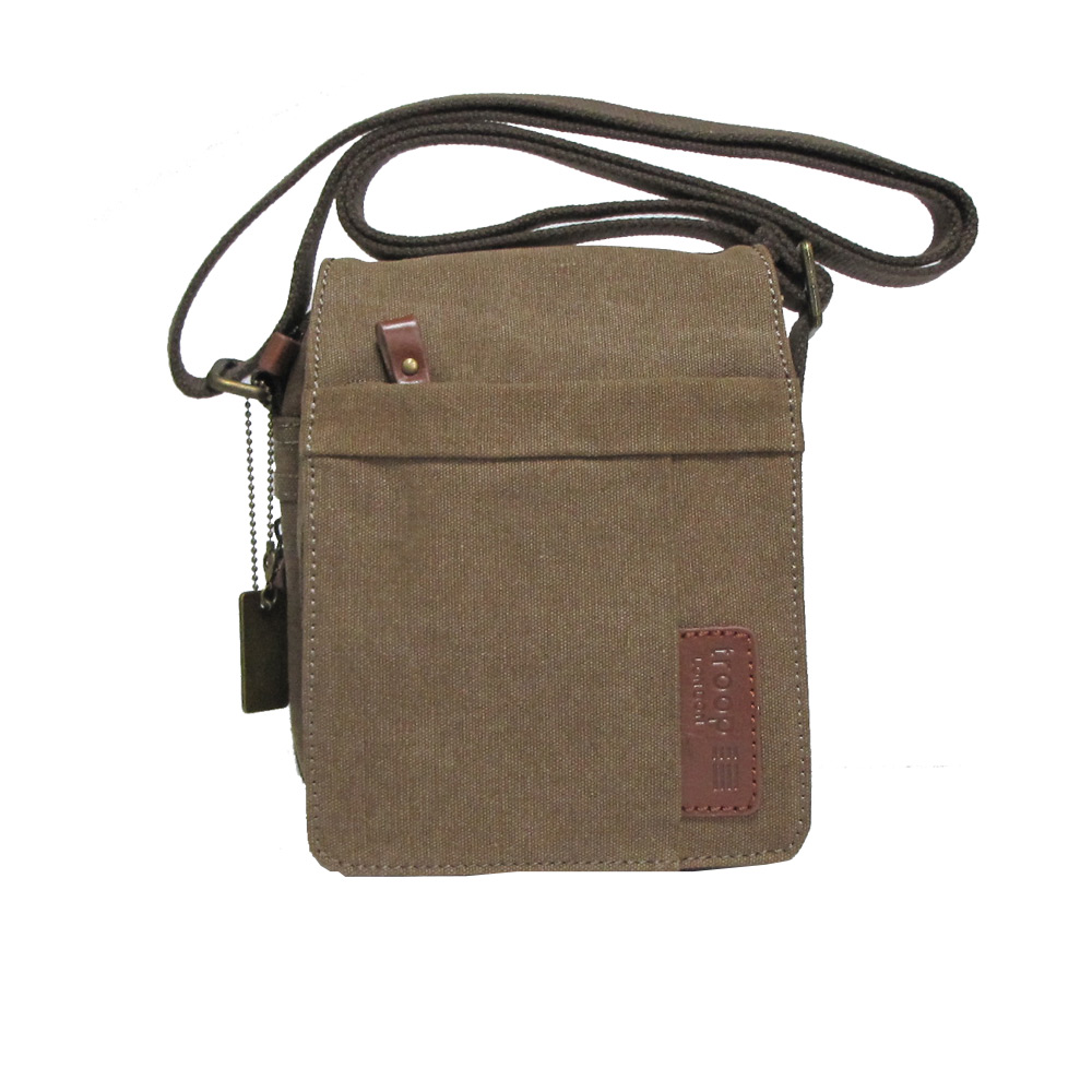 Troop London Canvas Crossbody Bag - TRP0220 - FREE Delivery 4a8e6cef003a7