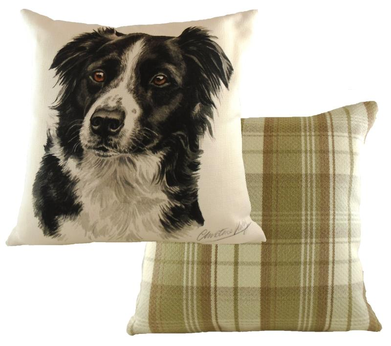 Waggy Dogz Border Collie Cushion