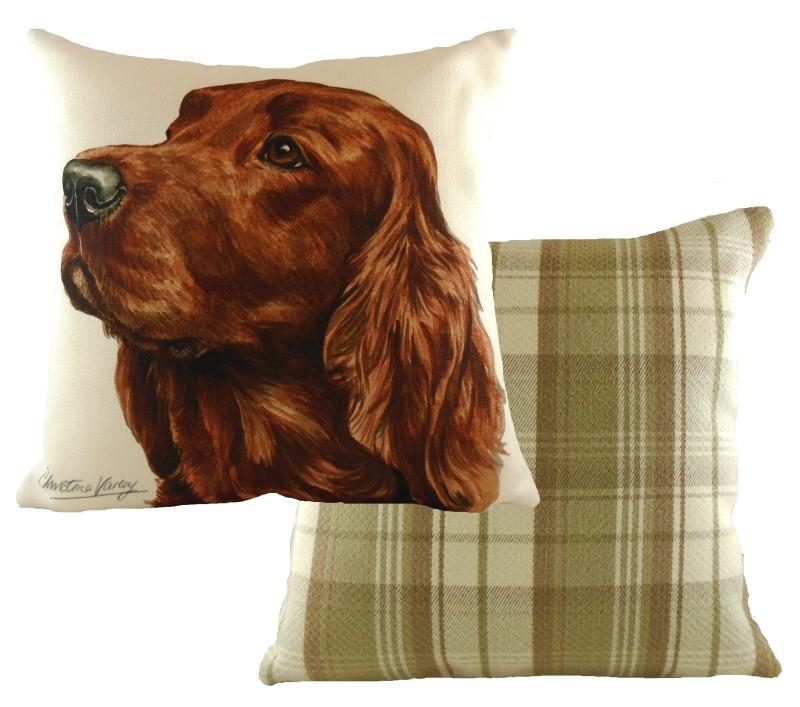 Irish Setter Waggy Dogz Cushion