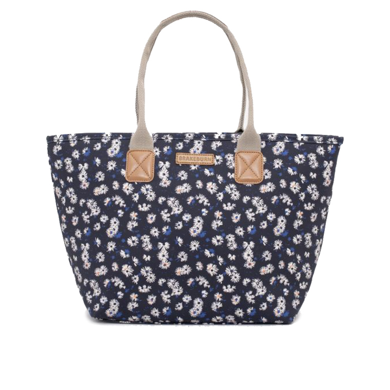 Brakeburn Aster Daisy Tote Hand Bag