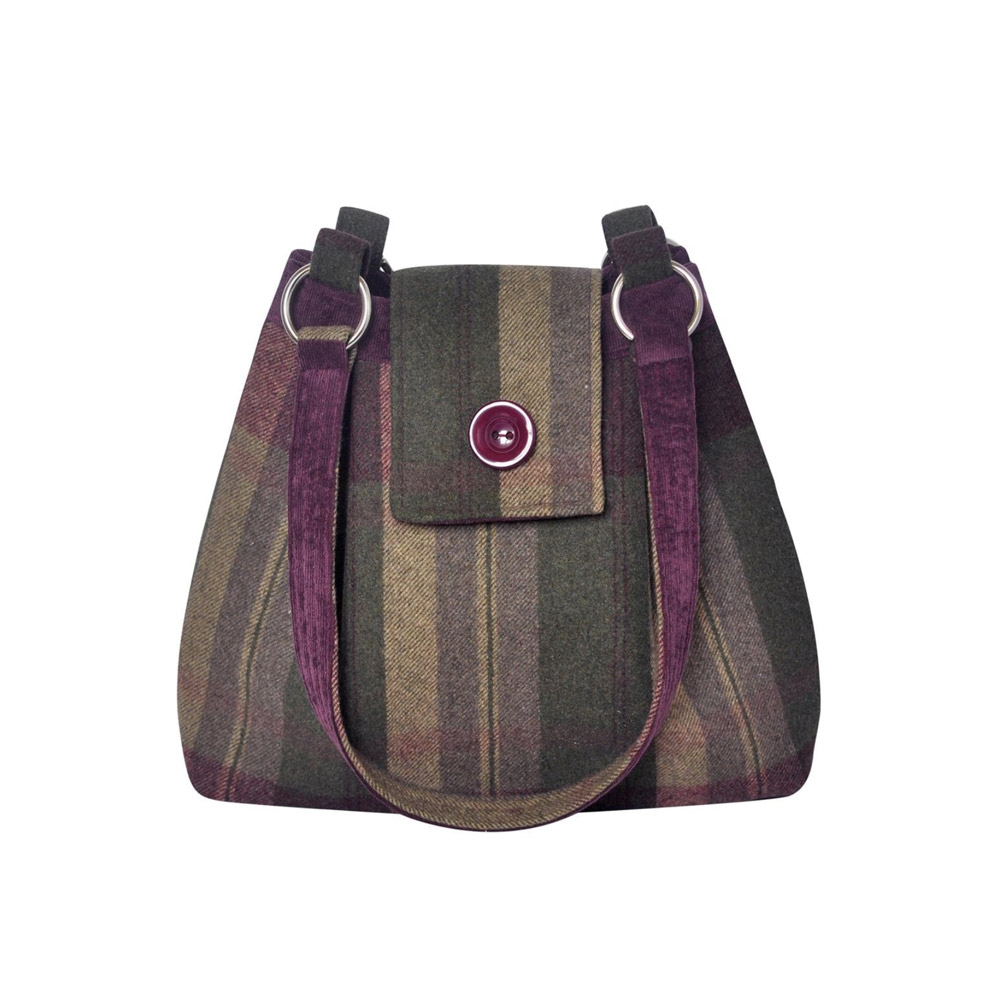 Earth Squared Ava Tweed bag