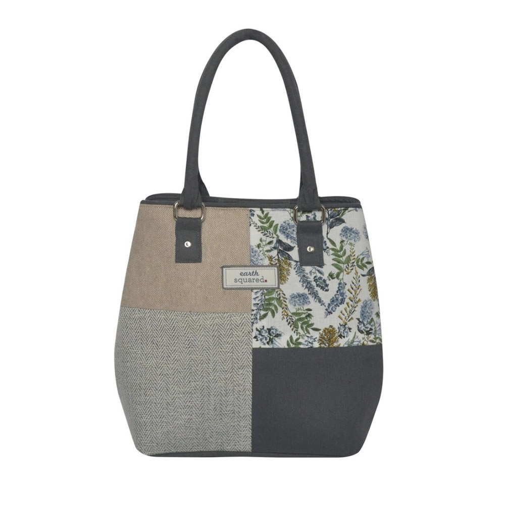 Earth squared White Flower Sophie Bag