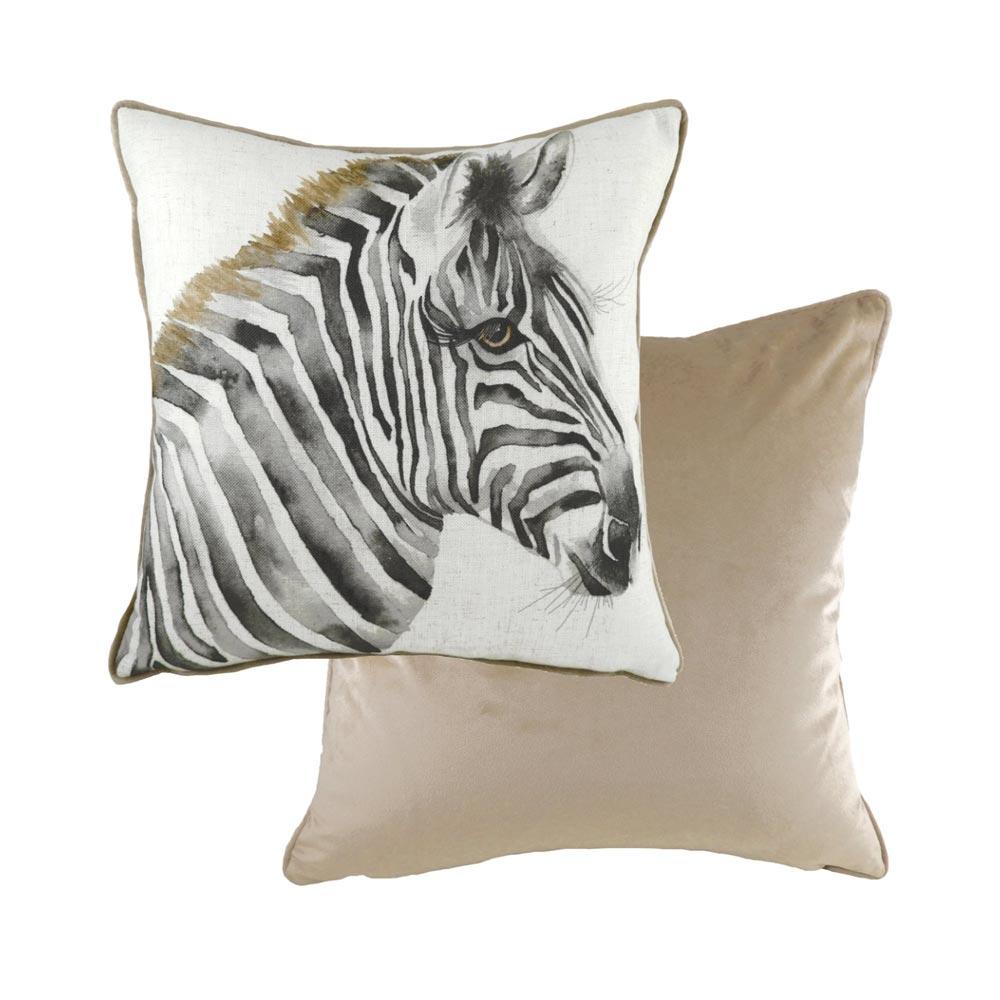 Evans Lichfield Zebra Cushion