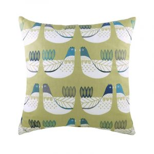 Cluck Cluck Cushion Green