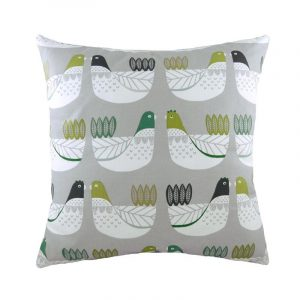 Cluck Cluck Grey Cushion