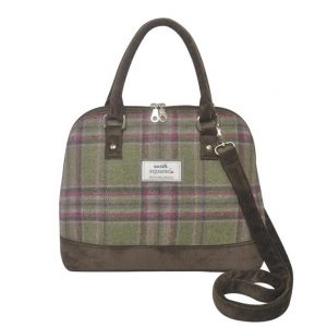 Tweed Bowling Bag - Moorland