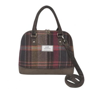 Tweed Bowling Bag - Pewter