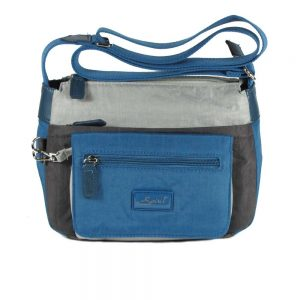 1651 - Petrol Blue Multi
