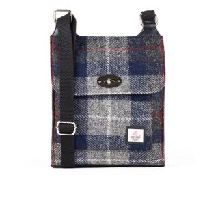 Harris Tweed satchel