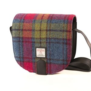 Harris Tweed Cross Body Bag