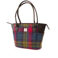 Harris tweed Tote Handbag